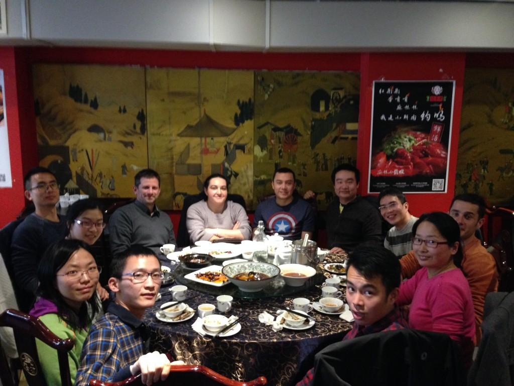 Lunch at Sichuan Restaurant